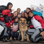 El viento fue el gran ausente en la cuarta jornada del Sudamericano de Veleros Optimist