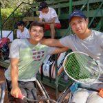 Alexander Cataldo y Jaime Sepúlveda se titularon campeones de dobles en el UNIQLO Wheelchair Chile Open