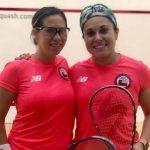 Giselle Delgado y Ana María Pinto ganaron medalla de plata en el Sudamericano de Squash