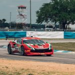 Benjamín Hites fue tercero en el cierre de la segunda fecha del Ferrari Challenge