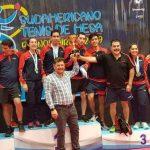 Chile se tituló campeón del Sudamericano de Tenis de Mesa