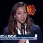 Christiane Endler fue premiada como la mejor arquera de Francia