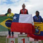 Chile ganó cuatro nuevas medallas de oro en el Sudamericano de Canotaje