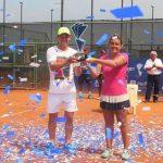 Fernanda Brito se tituló campeona del W15 de Guayaquil