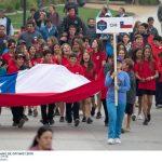Este domingo se realizó la Ceremonia Inaugural del Campeonato Sudamericano de Veleros Optimist