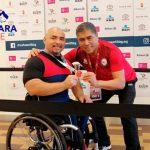 Juan Carlos Garrido ganó medalla de oro en la fecha húngara de la Copa del Mundo de Para Powerlifting