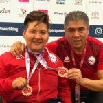Marión Serrano gana medalla de oro y logra récord mundial en la fecha húngara de la Copa del Mundo de Para Powerlifting