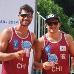Primos Grimalt ganaron medalla de bronce en la cuarta fecha del Circuito Sudamericano de Volleyball Playa
