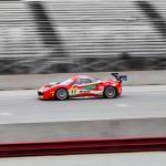 Benjamín Hites abandonó en la tercera fecha del Ferrari Challenge producto de un choque