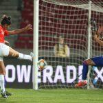 La Roja Femenina empató ante Colombia en su despedida antes de viajar al Mundial de Francia