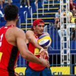 Primos Grimalt fueron quintos en fecha brasileña del World Tour de Volleyball Playa