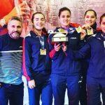 Equipo chileno femenino se tituló campeón latinoamericano de tenis de mesa