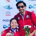 Katherinne Wollermann obtuvo medalla de bronce en la Copa del Mundo de Paracanotaje de Poznan