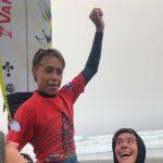 Noel de la Torre destacó en la jornada final del Pacífico Roots Cobquecura Surf