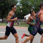Felipe Barraza obtuvo el séptimo lugar en el Campeonato Panamericano ITU de Triatlón