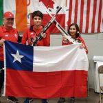 Rocío Van de Perre y Daniel Vidal realizaron una gran actuación en el Canadian Airgun Grand Prix