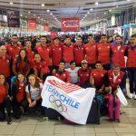 Selección Chilena de Remo comenzó gira preparatoria por Europa