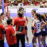 Chile cayó en las semifinales de la Copa Panamericana de Volleyball Femenino Sub 18