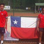 Equipo chileno femenino sumó su primer triunfo en el Sudamericano Sub 14 de Tenis