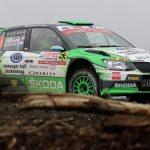 Cristóbal Vidaurre fue el mejor chileno en el Copec Rally Chile tras ser cuarto en la categoría WRC2