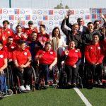 Ministra del Deporte anunció la construcción del Centro de Alto Rendimiento Paralímpico