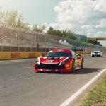 Benjamín Hites fue segundo en el cierre de la cuarta fecha del Ferrari Challenge