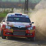 Emilio Fernández logró su primer punto de la temporada en el Gran Premio de Ovalle del RallyMobil