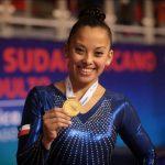 Franchesca Santi ganó medallas de oro y plata en el cierre del Sudamericano de Gimnasia Artística