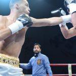 Javier Labra debutó con un triunfo en el boxeo profesional