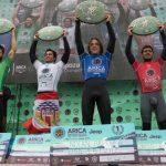 Estadounidense Nolan Rapoza ganó el Arica Pro Tour