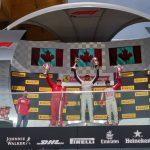 Benjamín Hites fue tercero en la primera jornada de la cuarta fecha del Ferrari Challenge