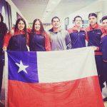 Chile jugará la final por equipos varones en el Panamericano Junior de Tenis de Mesa