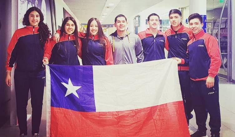 53b7210c Chile jugará la final por equipos varones en el Panamericano Junior de  Tenis de Mesa