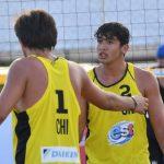 Vicente Droguett y Martín Iglesias avanzaron a la siguiente ronda en el Mundial U21 de Volleyball Playa