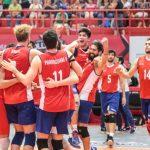 Chile derrotó a República Dominicana en la Copa Panamericana de Volleyball Masculino