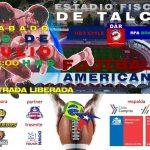 La Roja Sub 23 de Football Americano se enfrentará a los brasileños de Río Football Academy en Talca