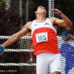 Claudio Romero ganó medalla de oro en el Panamericano Sub 20 de Atletismo