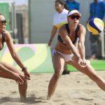 Francisca Rivas y Pilar Mardones caen ante Argentina e irán por el quinto puesto del volleyball playa en Lima 2019