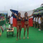 Francisca Rivas y Pilar Mardones avanzan a cuartos de final del volleyball playa en Lima 2019