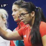 Lenka Rojas fue séptima en el levantamiento de pesas de Lima 2019