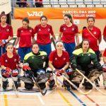 """Las """"Marcianitas"""" caen estrechamente ante España en los World Roller Games"""