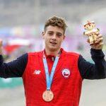 Martín Vidaurre gana medalla de bronce en el mountain bike de Lima 2019