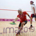El squash nacional vivió una jornada de contrastes en Lima 2019