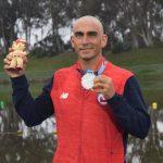 Rodrigo Miranda ganó medalla de plata en el cierre del esquí náutico en Lima 2019