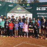 Este viernes finalizó el Tercer Nacional de Tenis de Menores Beca Jaime Musalem