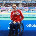 Alberto Abarza y Vicente Almonacid ganan medallas de oro en la Para Natación de Lima 2019