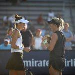 Alexa Guarachi y Bernarda Pera cayeron en los octavos de final de dobles del US Open