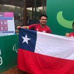 Alexander Cataldo y Diego Pérez avanzaron a las semifinales de dobles del tenis en silla de ruedas de Lima 2019