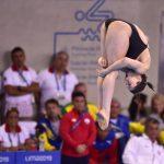 Alison Maillard clasificó a la final de trampolín tres metros en los clavados de Lima 2019