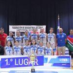 Asociación Ancud se tituló campeón del Nacional U13 de Básquetbol Femenino
